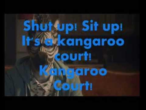 Capital Cities - Kangaroo Court Lyrics (On Screen)
