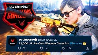 LG ULTRAGEAR UK $3500 SOLO CHALLENGE CHAMPION - 121 KILLS!