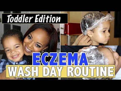 Toddler Wash Day Routine for Eczema Treatment | MrsJRoche