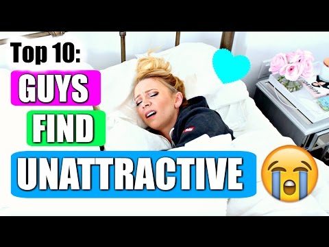 10 Things GUYS Find UNATTRACTIVE: Teen Edition Back to School Giveaway