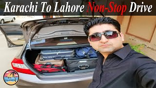 Karachi To Lahore By Car