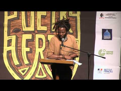 Quaz Roodt at POETRY AFRICA 2014