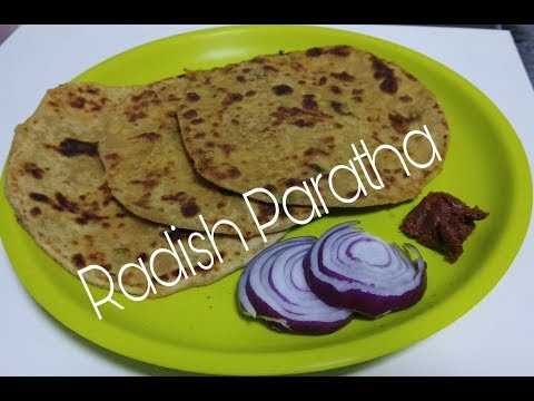 Healthy Radish Parantha || ముల్లంగి పరొట ||Mooli Paratha step by step Process