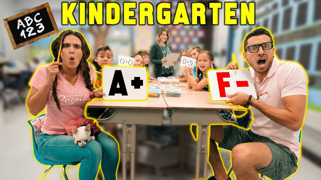 Going Back To KINDERGARTEN For A Day! *CHALLENGE* | The Royalty Family