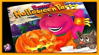 """""""BARNEY'S HALLOWEEN PARTY"""" - Barney Read Aloud - Storybook for kids, children & adults"""