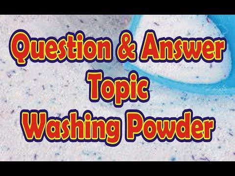 How To Make Washing Powder Q&A