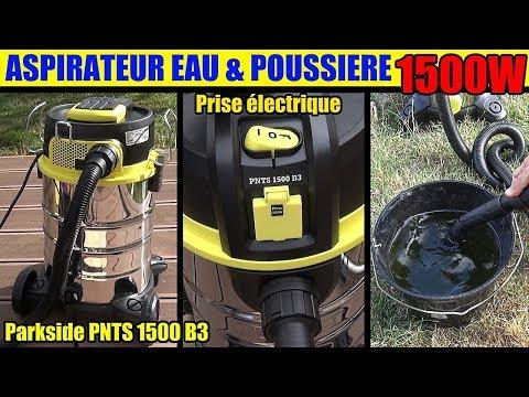 Aspirateur Eau Et Poussiere Lidl Parkside Pnts 1500 Wet And
