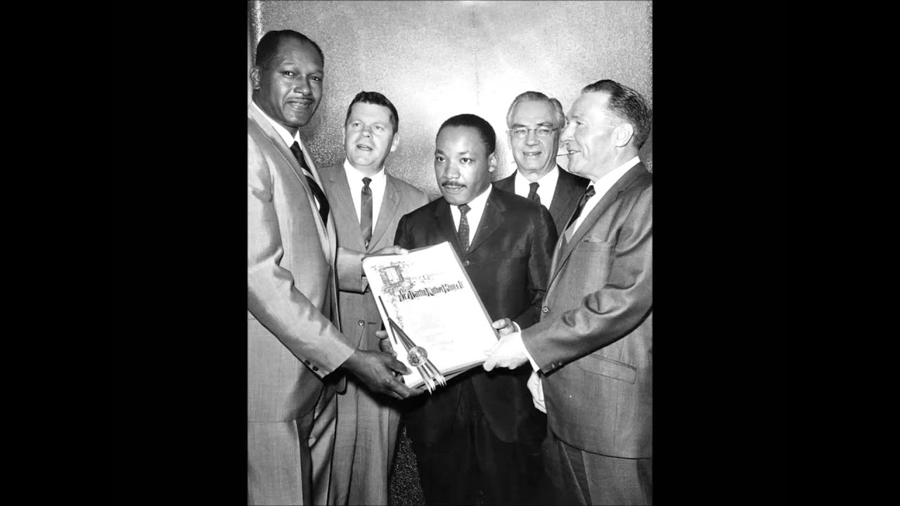 Dr. Martin Luther King Jr. Hollywood Palladium February 26, 1965