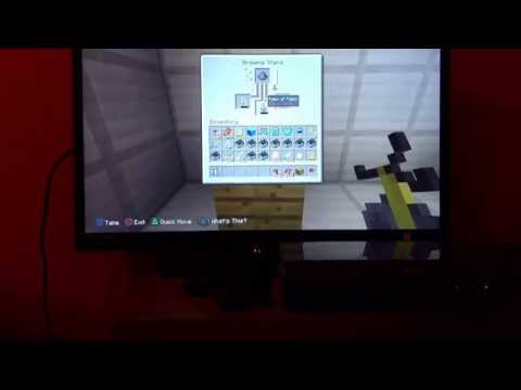 How to create potion of poison on minecraft ps3
