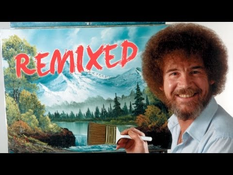 Bob Ross Remixed | Happy Little Clouds | PBS Digital Studios