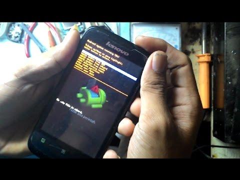 Hard reset lenovo A369i | unlock android