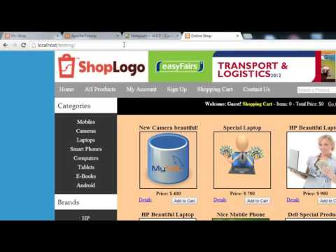 004 Creating the Project Folders |E-Commerce Website in PHP