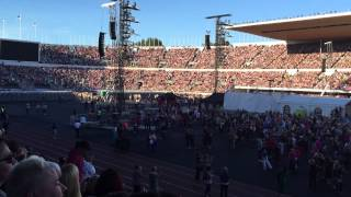 "Jari Sillanpää Olympiastadion 16.8.2015 ""The Grand Entrance"" Oot täydellinen"
