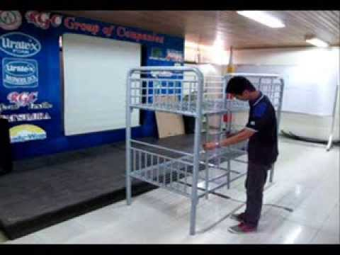 HERCULES Bunk Bed assembly