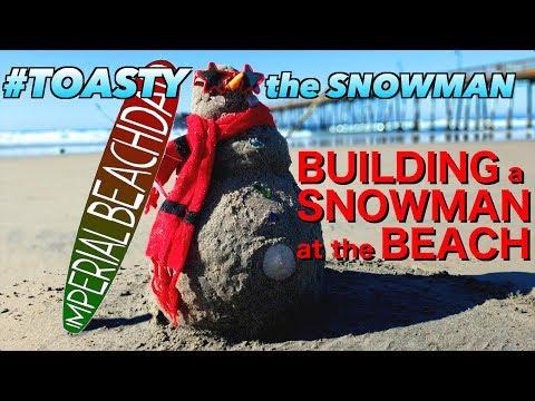 Making a SNOWMAN on the BEACH?!      #DADDINGDONERIGHT ep.13