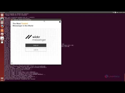 How to install Wickr App in Linux