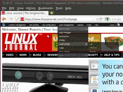 Get Firefox Menu Button in Linux