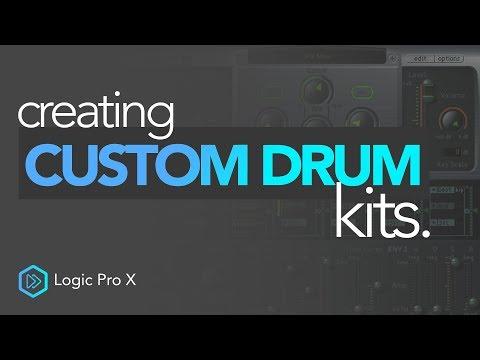 Creating Custom Drum Kits | Logic Pro X