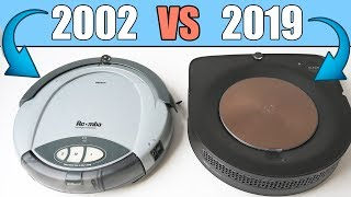 The Original Roomba (2002) vs Roomba S9+ (2019) - Wow!