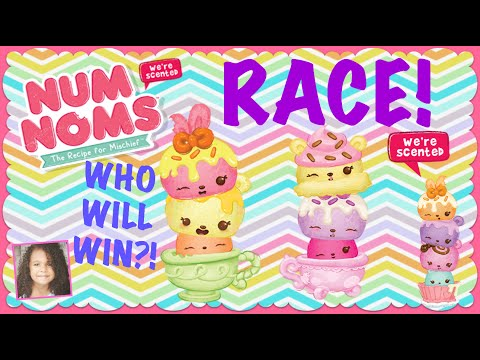 Num Noms Sour Citris & Triple Berry Cupcake Review & RACE! Who Will Win?