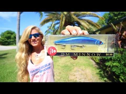 Beginner Fishing HOW TO: Inshore Saltwater Lip Diver Lure Video