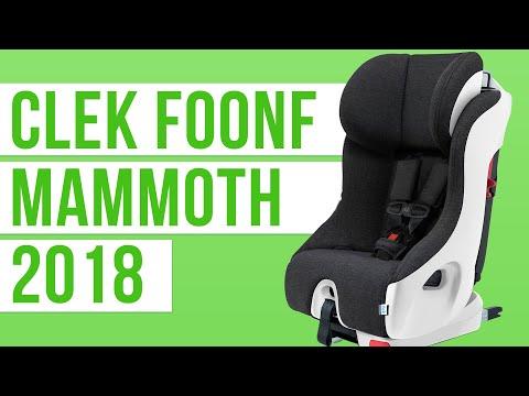 Clek Foonf Mammoth | ZERO ADDED FLAME RETARDANTS! | Convertible Car Seat 2018