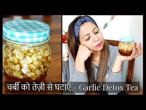 DIY Detox Tea for Winter: How to Lose Weight Fast with Lemon, Honey & Garlic Detox Tea | Fat to Fab