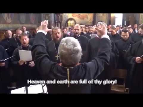 Orthodox Liturgy - Joining the Heavenly Praise