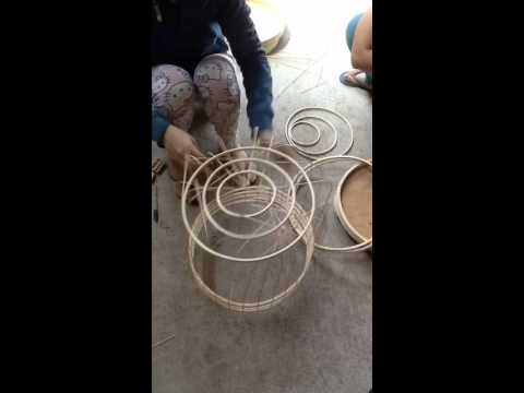 How to Make a Bamboo Bird Cage Part 1