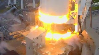 Full Orbital ATK Cygnus OA-8 Resupply Ship Launched To ISS On Antares Rocket NASA Tv Coverage
