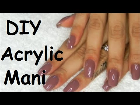 How To: DIY Acrylic Manicure- Fill In