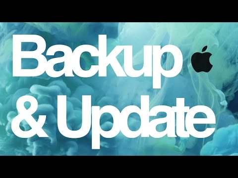 How to Backup in iCloud and Update to the Latest iOS 10.3.1 - iPhone iPod iPad