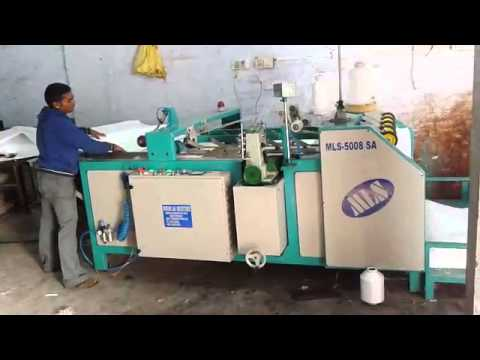 Automatic bag stitching machine