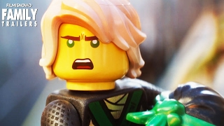 The LEGO NINJAGO Movie - Funny Kung Fu action in first trailer for the animated comedy
