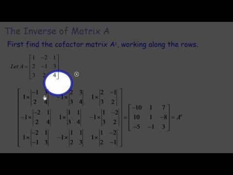 Matrices: Solving Linear equations with the Matrix Method