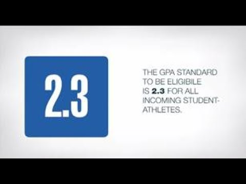 NCAA initial eligibility standards