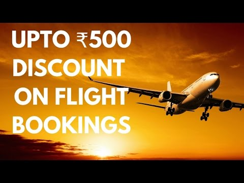 100% Proven way of Getting discount on your next flight booking