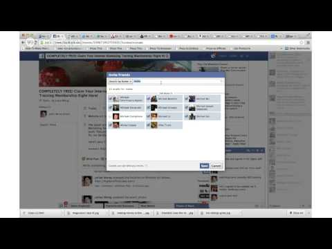 How To Mass Add People To A Facebook Event