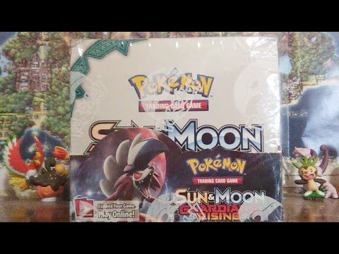 Pokemon Sun and Moon Guardians Rising Booster Box Part 1