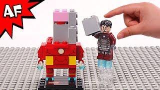 Lego Iron Man Brick Building an Iron Man Brickheadz