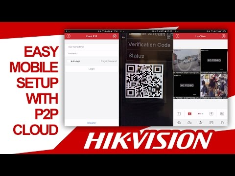 Hikvision - Mobile Setup P2P Cloud IVMS-4500 (Quick & Easy Step By Step Config) HDSECURE