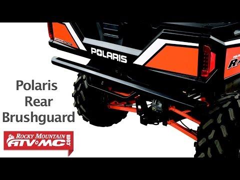 Polaris Ranger 900XP Rear Brushguard Installation