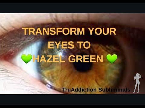 HAZEL GREEN EYES TRANSFORMATION (FORCED)~TruAddiction Subliminals