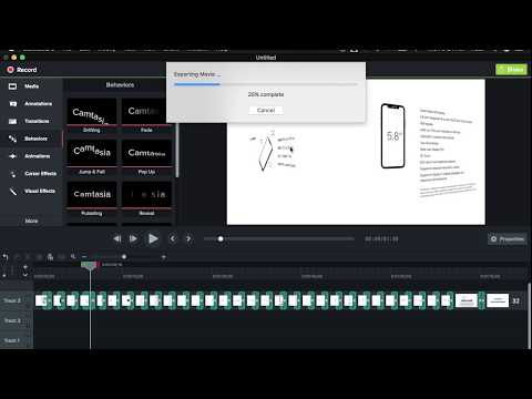 How to Export as MP4 | Camtasia Studio