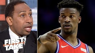 The 76ers should dare Jimmy Butler to walk away from a 5-year max deal – Stephen A. | First Take