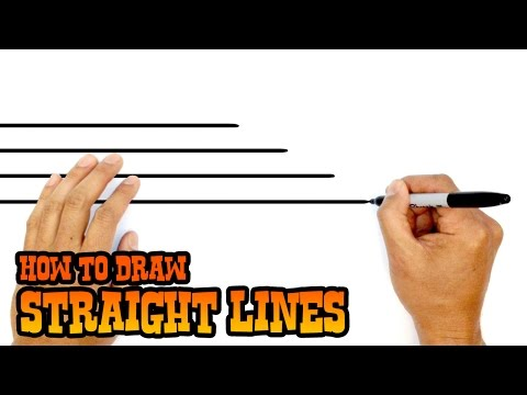 How to Draw Straight Lines- Quick Art Tip