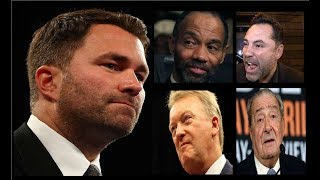 WHAT DO WE BOXING FANS EXPECT FROM PROMOTERS LIKE EDDIE HEARN AND OTHERS?!!