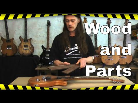 Build Your Own Guitar - Wood and Parts