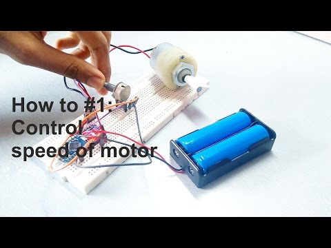 How to #1 : Control speed of motor ?