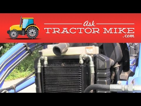 How to Replace a TC or DX Hydraulic Oil Cooler